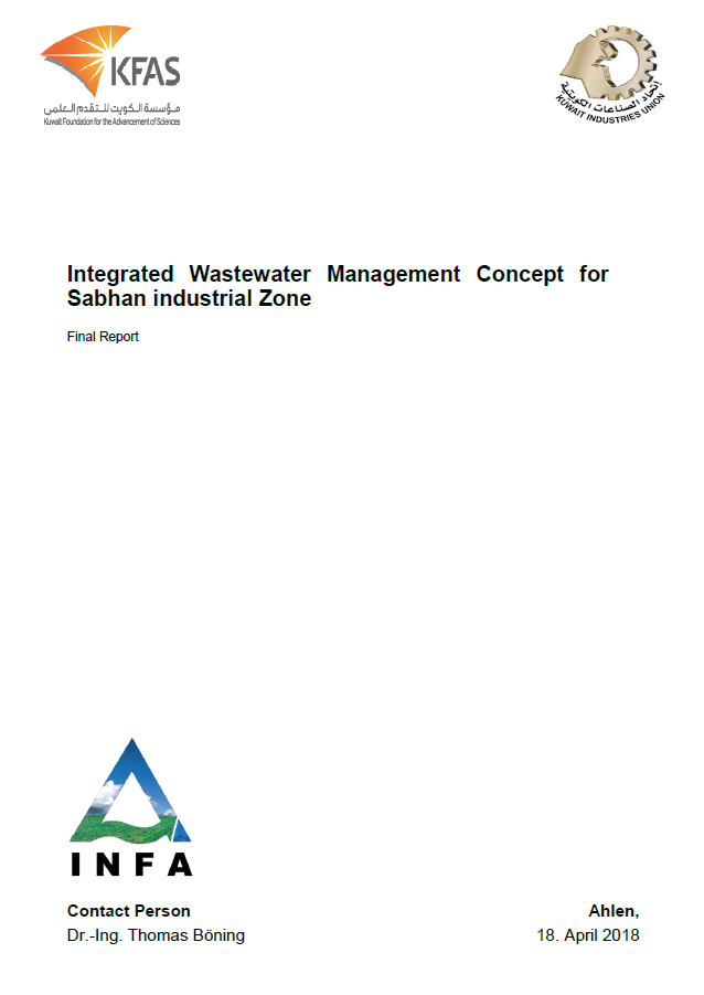 Integrated Wastewater Management Concept for Sabhan Industrial Zone